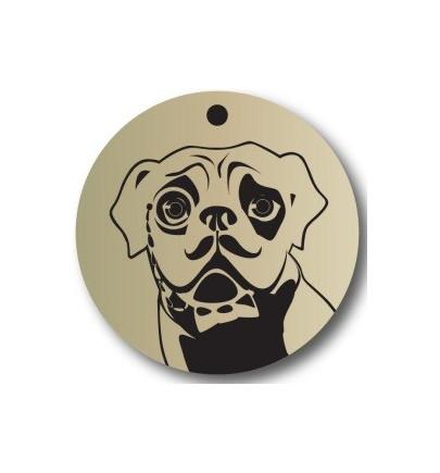 Dog Rescue Tag - Mâle Légère