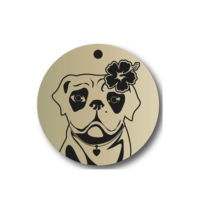 Dog Rescue Tag - Femelle Légère