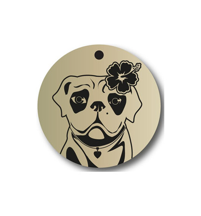 Dog Rescue Tag - Femelle